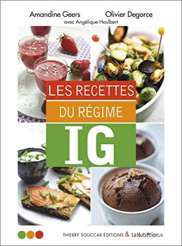 9782365490955: Les recettes du régime IG