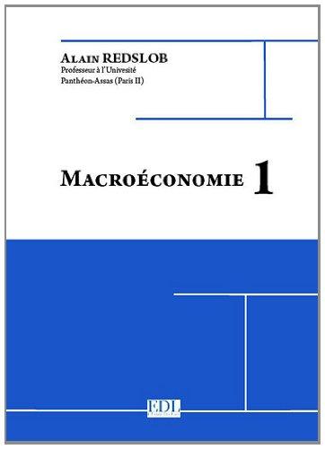 9782365610032: Macroéconomie 1