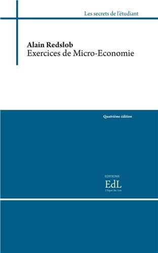 9782365610162: Exercices de micro-économie