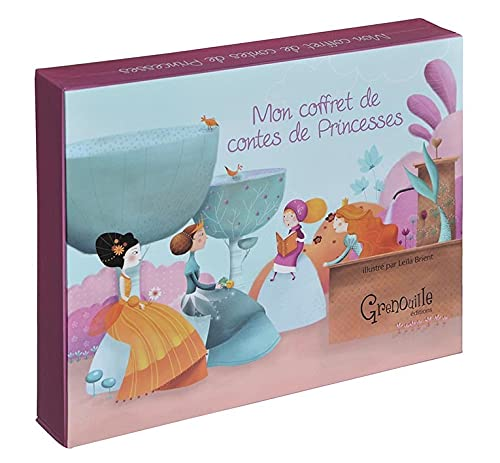 Mon coffret de contes de princesses (French Edition)