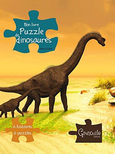 9782366530438: Mon livre puzzle de dinosaures (French Edition)