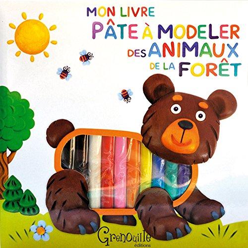 9782366530490: Mon livre pâte à modeler des animaux de la forêt