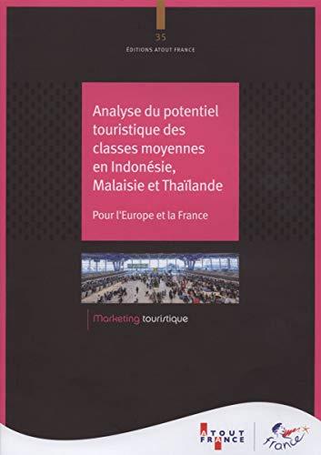 Analyse du potentiel touristique des classes moyennes en Indonésie, Malaisie et Thailande