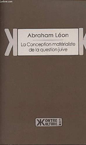 9782367250267: La Conception matérialiste de la question juive