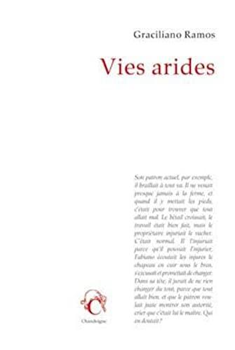 9782367320809: Vies arides