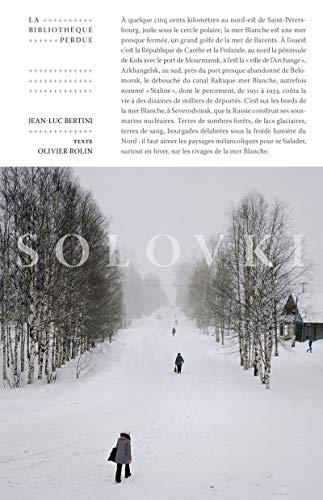 9782367440644: Solovki : La bibliothèque disparue