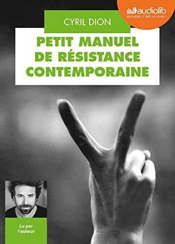 9782367628523: Petit Manuel de résistance contemporaine: Livre audio 1 CD MP3