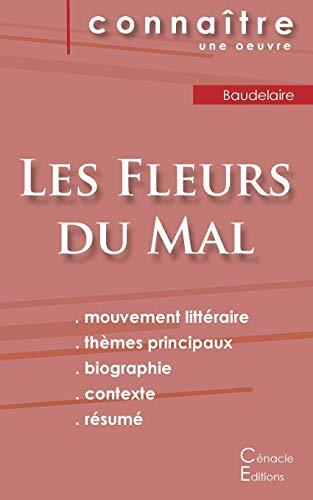 9782367885766: Fiche de lecture Les Fleurs du Mal de Baudelaire (Analyse littéraire de référence et résumé complet)