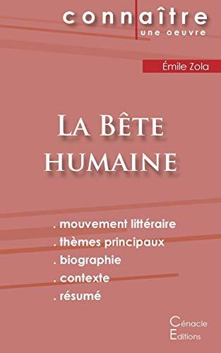 9782367886695: Fiche de lecture La Bête humaine (Analyse littéraire de référence et résumé complet)