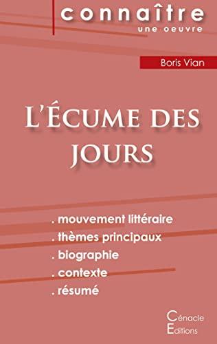 9782367888132: Fiche de lecture L'Ecume des jours (Analyse littéraire de référence et résumé complet)