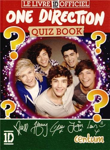 QUIZZ BOOK : ONE DIRECTION: COLLECTIF