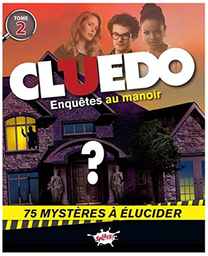 Cluedo / Mon carnet d'énigmes Tome 2: Jérôme Eho; M.