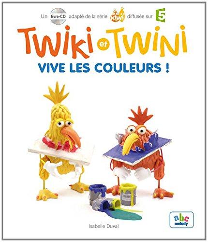 9782368360392: Twiki et Twini - Vive les couleurs ! (1CD audio)