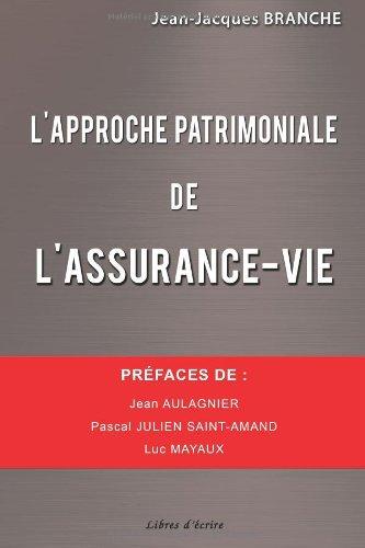 9782368452189: L'approche patrimoniale de l'assurance-vie