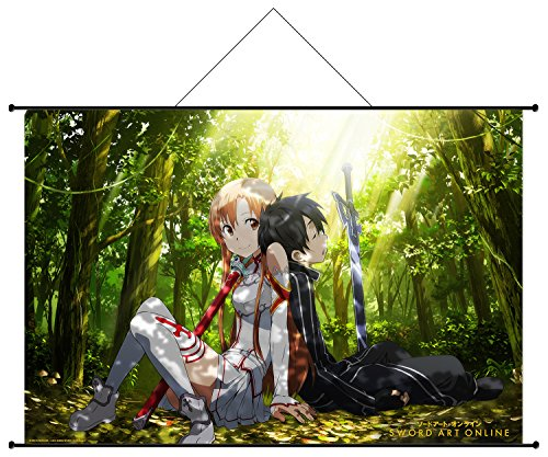 9782368772904: Wallscroll - Sword Art Online - Kirito, Asuna, Dos a Do