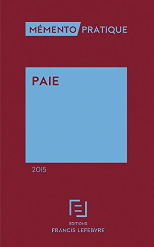 9782368930625: M�mento Paie 2015