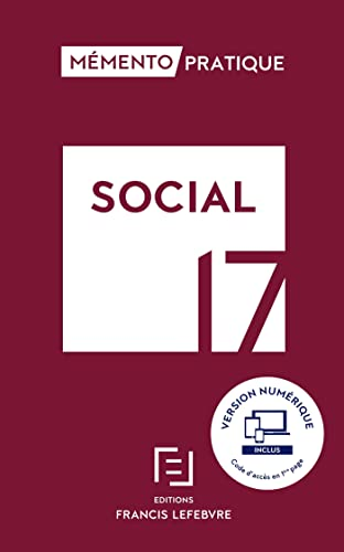 9782368932551: MEMENTO SOCIAL 2017