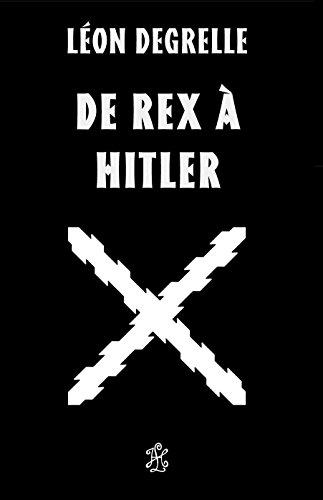 9782368960257: De Rex à Hitler