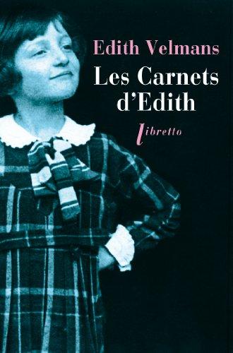 CARNETS D EDITH -LES-: VELMANS EDITH