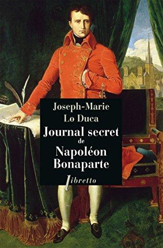 9782369141891: journal secret de Napoléon Bonaparte