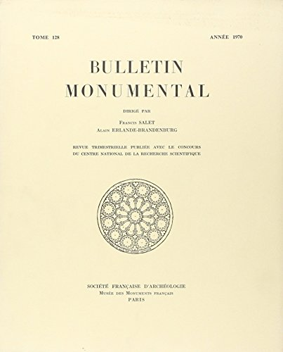 9782369190486: Bulletin Monumental 1970 Tome 128
