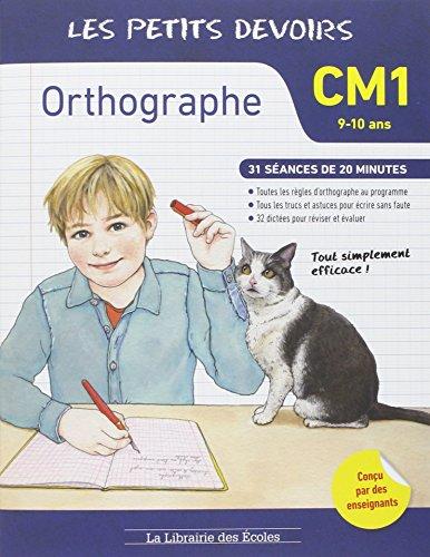 9782369400240: Les petits devoirs orthographe CM1