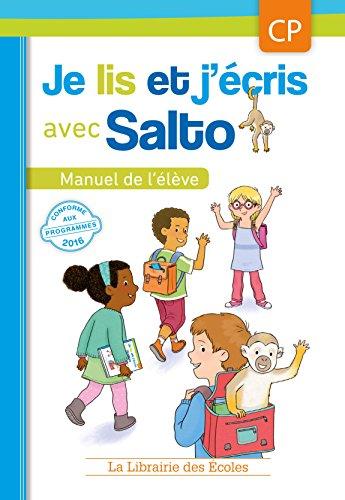 9782369400769: Je lis et j'écris avec Salto - CP - Manuel de l'élève