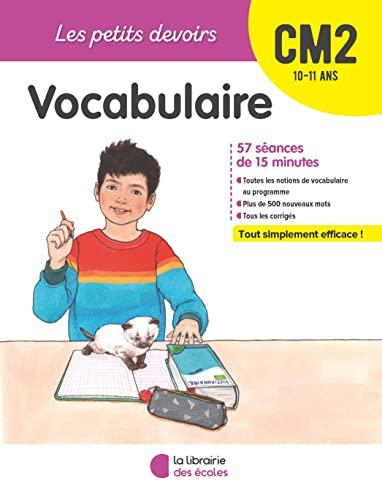 9782369403838: Les Petits Devoirs - Vocabulaire CM2