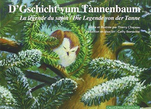 9782369630197: La légende du sapin : Edition alsacien-allemand-français