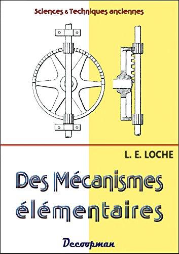 9782369650027: Des mécanismes élémentaires