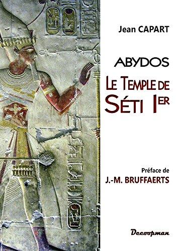 9782369650508: Le temple de SETI 1er