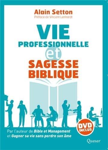 9782369690108: Vie professionnelle et sagesse biblique