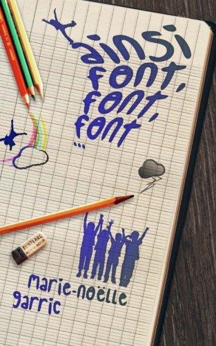 9782370113498: Ainsi font, font, font...