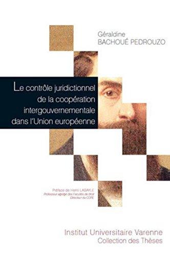 CONTROLE JURIDICTIONNEL DE LA COOPERATIO: BACHOUE PEDROUZO GER