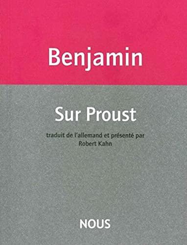 9782370840127: Sur Proust