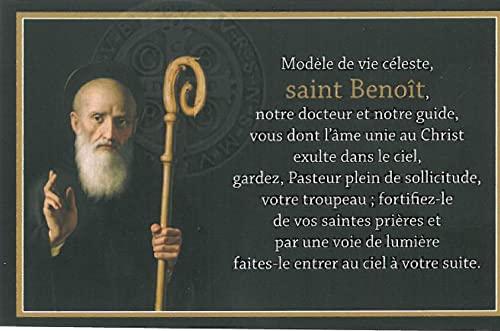 9782370880086: Carte Saint Benoît (par Lot de 20)