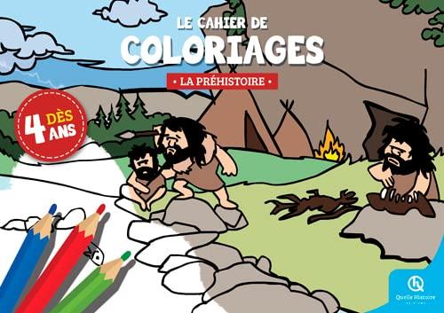 9782371040663: CAHIER DE COLORIAGES LA PREHISTOIRE
