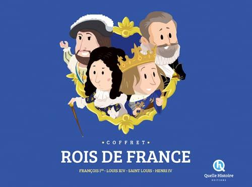 9782371041523: COFFRET ROIS DE FRANCE (4liv.+1poster)