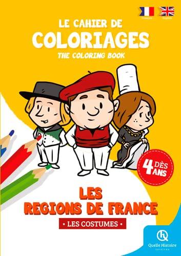 9782371041578: CAHIER DE COLORIAGES COSTUMES REGIONS FR