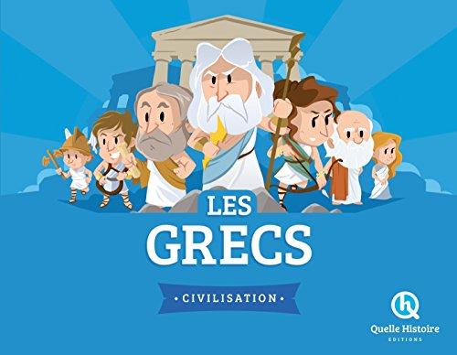 9782371042025: LES GRECS (hist.jeunesse)