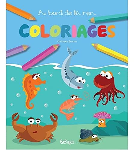9782371330528: Au bord de la mer : coloriages