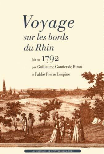 9782371570108: Voyage sur les bords du Rhin fait en 1792