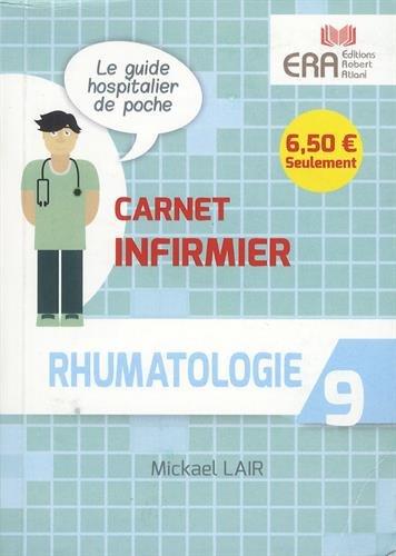 9782371810778: Rhumatologie Carnet Infirmier 9