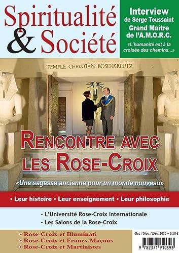 9782371910393: Spiritualité & Société - Numéro spécial consacré à l'AMORC