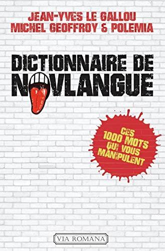 9782372710183: dictionnaire de novlangue