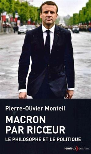 9782373441130: Macron par Ricoeur : Le politique et le philosophe