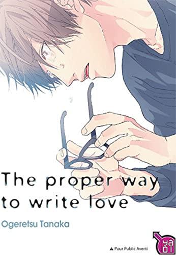 9782375060346: The proper way to write love