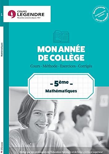 9782375812587: Mathématiques 5e Cahier de vacances 5ème