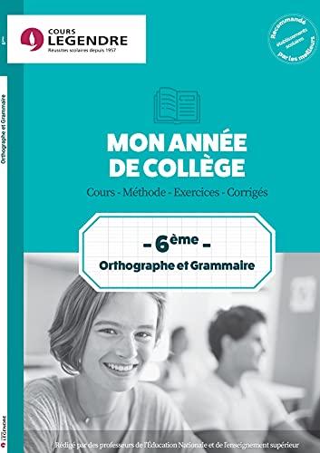 9782375812631: Orthographe grammaire 6e Cahier de vacances 6ème