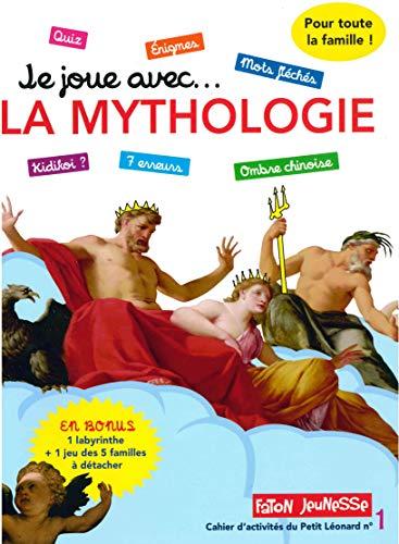 9782376350002: Je joue avec... la mythologie : Un cahier d'activités pour toute la famille avec plus de 30 jeux